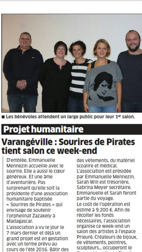Article de journal couleur
